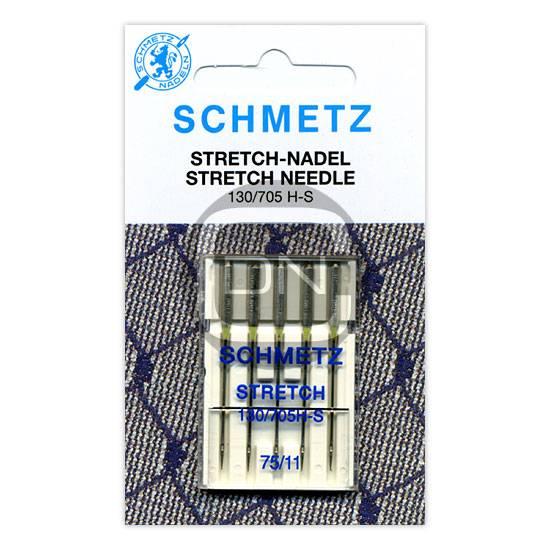 Stretch Nadel Stärke 75, 5er Pack (Schmetz)