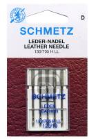 Ledernadel Stärke 120, 5er Pack (Schmetz)