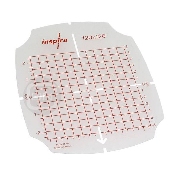 Hoop Template 120 x 120 mm (Inspira)
