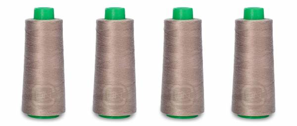 Overlockgarn 2500m Farbe nougat 100% Polyester