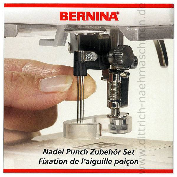 Punching Set + Stichplatte (Bernina activa 130, 140)