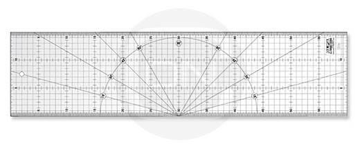 Quiltlineal 15 cm x 60 cm (OLFA)