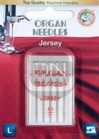 Jersey Nadel Stärke 80, 5er Pack (ORGAN)