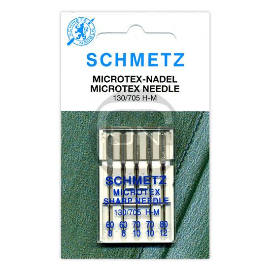 Microtex Nadel Sortiment Stärke 60 70 80, 5er Pack (Schmetz)