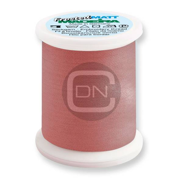 Madeira Frosted Matt No.40 Farbe 7908 neon red 500m