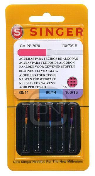 Universal Nadel Sortiment Stärke 80 90 100 - 5er Pack SINGER