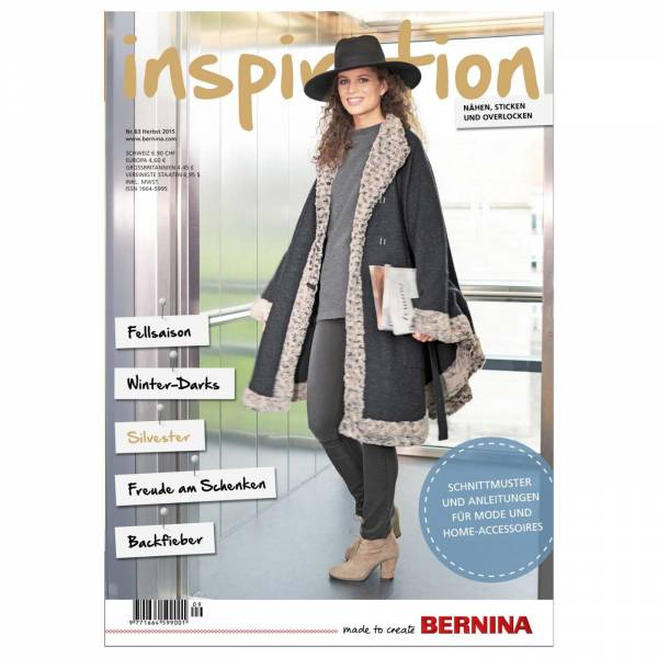 Bernina inspiration Nr. 62 / Magazin / Zeitschrift
