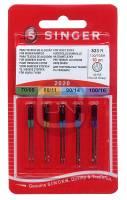 Universal Nadel Sortiment Stärke 70 80 90 100, 10er Pack (SINGER)