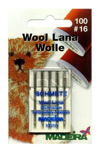 Sticknadel für (Lana) Wollstickgarne Stärke 100 (Madeira) - 5 Stück - (ARCHIV)