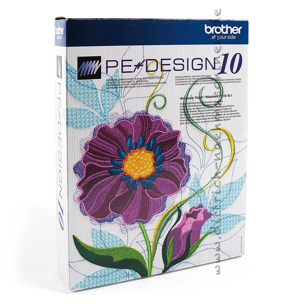 Sticksoftware: Brother PE-Design 10   Dittrich Nähmaschinen