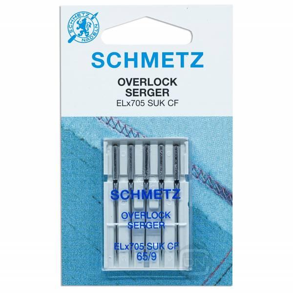 Overlocknadel ELx705 SUK CF Stärke 65 5er Pack Schmetz