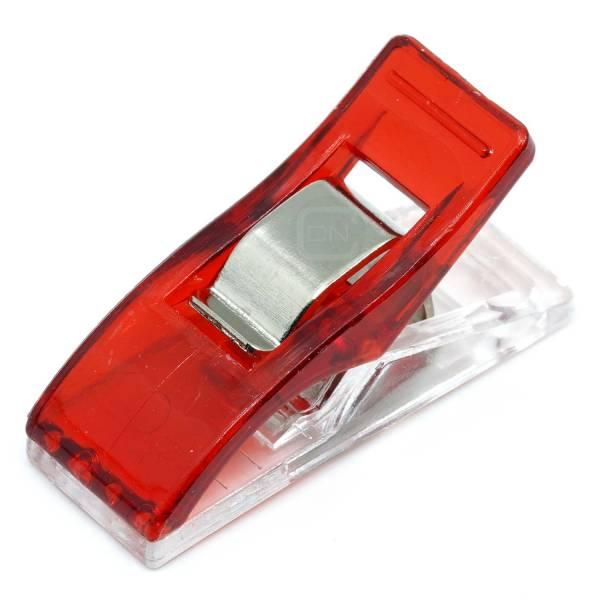 Wonder Clips Stoffklammern 20 Stück rot