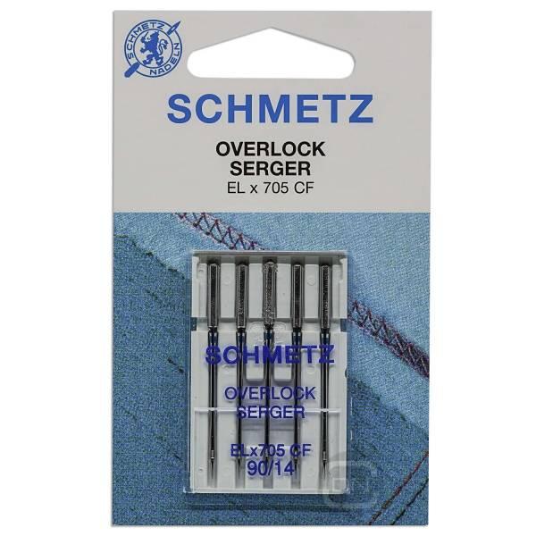 Overlocknadel ELx705 CF Stärke 90 5er Pack Schmetz