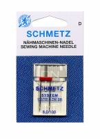 Zwillingsnadel 8,0 mm Stärke 100 (Schmetz)