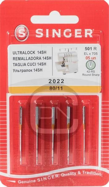 Overlocknadel ELx705 Stärke 80 5er Pack SINGER