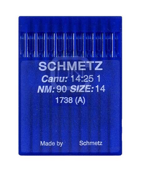 Schmetz Nadel 1738 Stärke 90 (10er Pack)