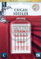 Jersey Nadel Sortiment Stärke 70 80 90 100, 5er Pack (ORGAN)