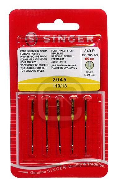 Stretch Nadel Stärke 110 5er Pack SINGER