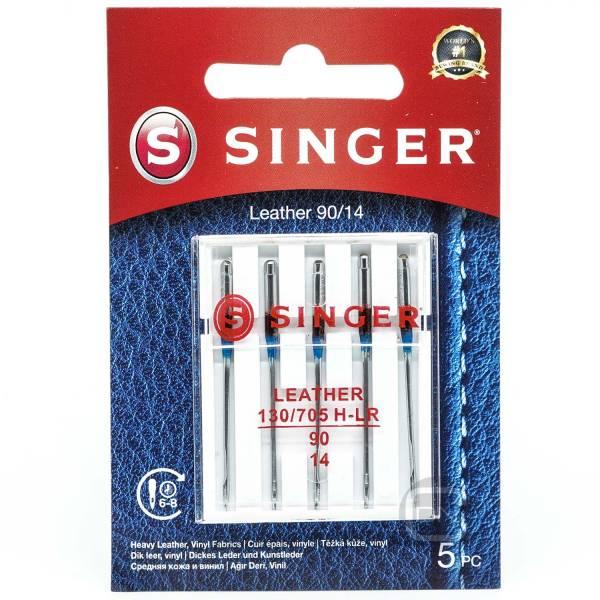 Leder Nadel Stärke 90 5er Pack SINGER