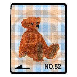 Brother Stickmotivkarte 52 - Bären Collection - (ARCHIV)