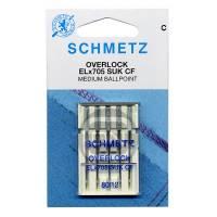 Overlocknadel ELx705 SUK CF, Stärke 80, 5er Pack (Schmetz)