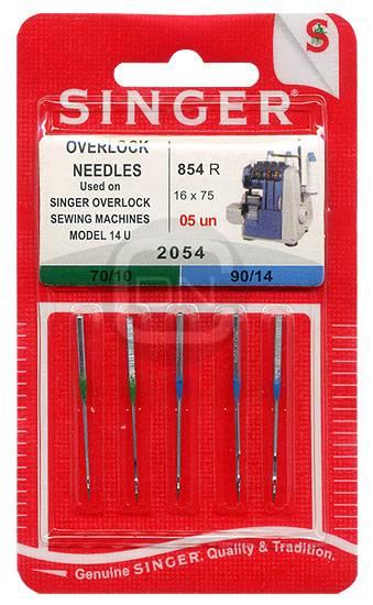 Overlocknadel 16x75 Stärke 70 90 5er Pack SINGER