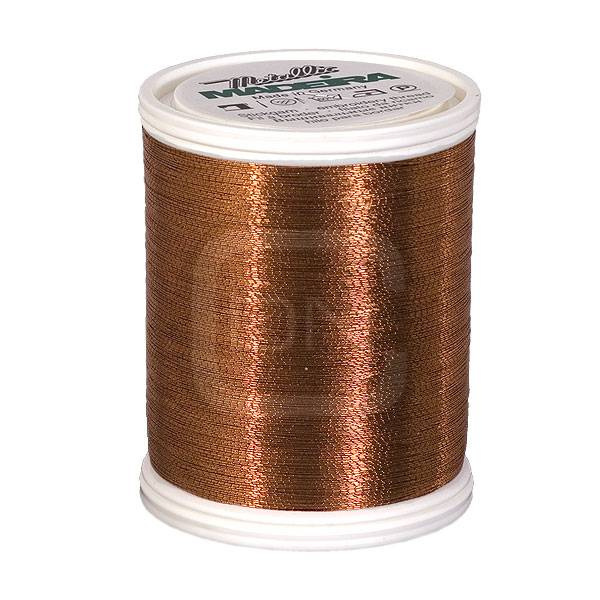 Madeira Metallic No. 40 Copper 1000m
