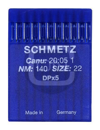 Nadel System DPx5, Stärke 140, 10er Pack - Schmetz