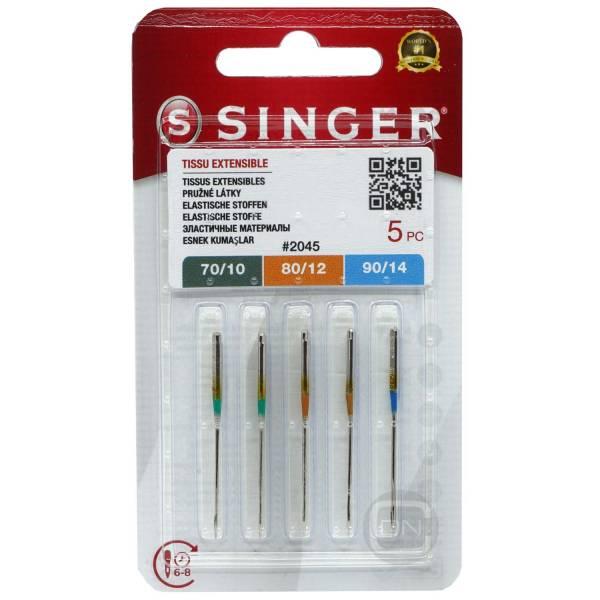 Stretch Nadel Sortiment Stärke 70 80 90 5er Pack SINGER