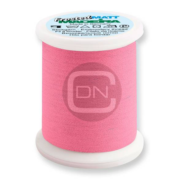 Madeira Frosted Matt No.40 Farbe 7909 neon pink 500m