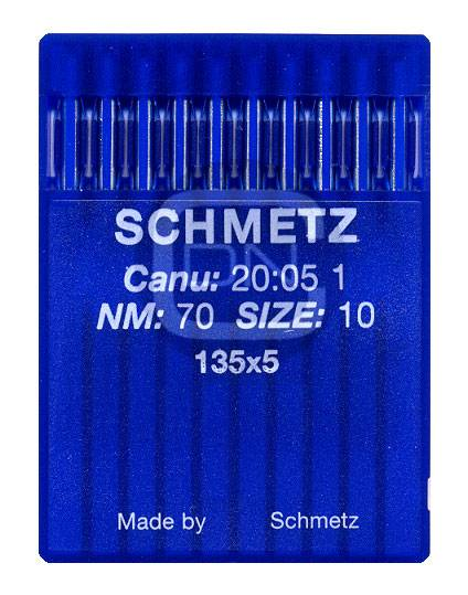 Nadel System 135x5 Stärke 70 10er Pack Schmetz