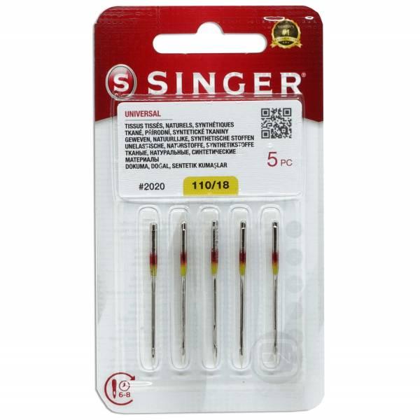 Universal Nadel Stärke 110 - 5er Pack SINGER