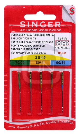 Stretch Nadel Sortiment Stärke 70 80 90 5er Pack SINGER