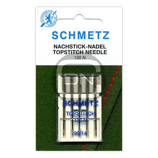 TOPSTITCH Nadel, Stärke 90, 5er Pack (Schmetz)