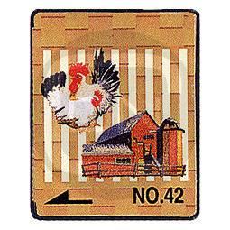 Brother Stickmotivkarte 42 - Bauernhof - (ARCHIV)