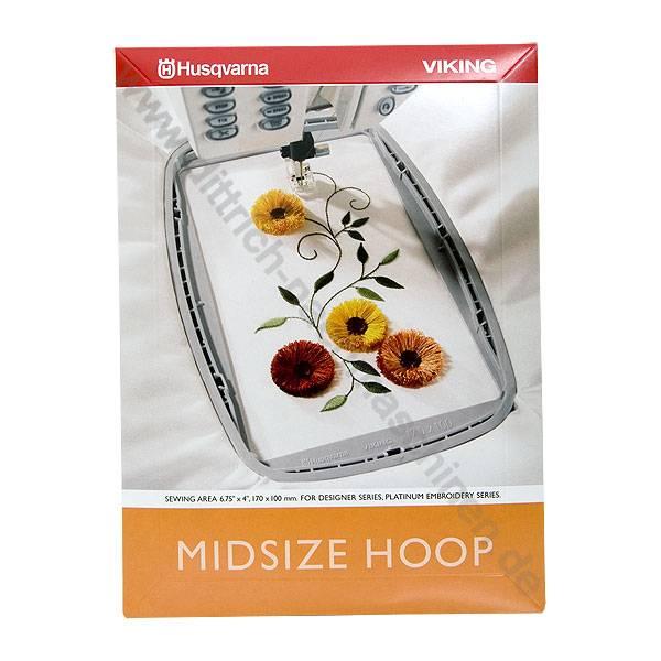Midsize Hoop 170 x 100 mm Husqvarna Designer Platinum