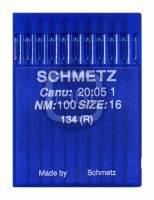 Nadel System 134 (R) Stärke 100 10er Pack Schmetz