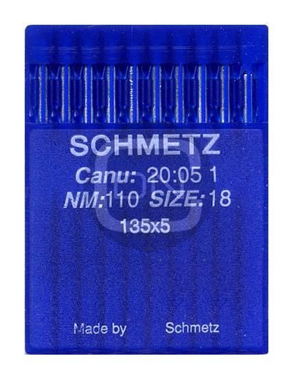 Nadel System 135x5 Stärke 110 10er Pack Schmetz
