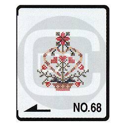 Brother Stickmotivkarte 68 - Kreuzstichmuster I - (ARCHIV)