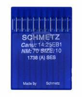 Nadel System 1738 (A) SES, Stärke 70, 10er Pack - Schmetz