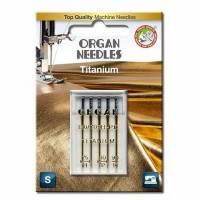 Titan Nadel Sortiment Stärke 75 80 90, 5er Pack (ORGAN)