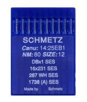 Nadel SES, Stärke 80, 10er Pack - Schmetz