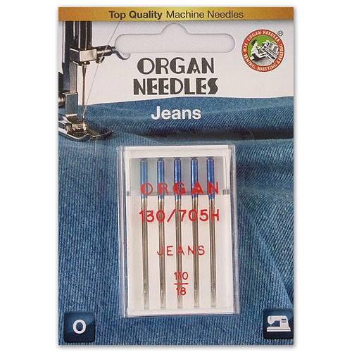 Jeans Nadel Stärke 110, 5er Pack (ORGAN)