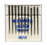 Overlocknadel DCx1F Stärke 90, 10er Pack (Schmetz)