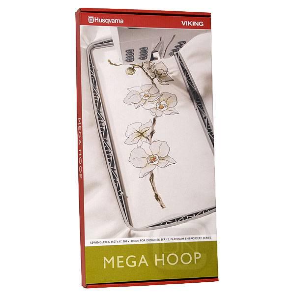 Mega Hoop 360 x 150 mm (Husqvarna Designer, Platinum)