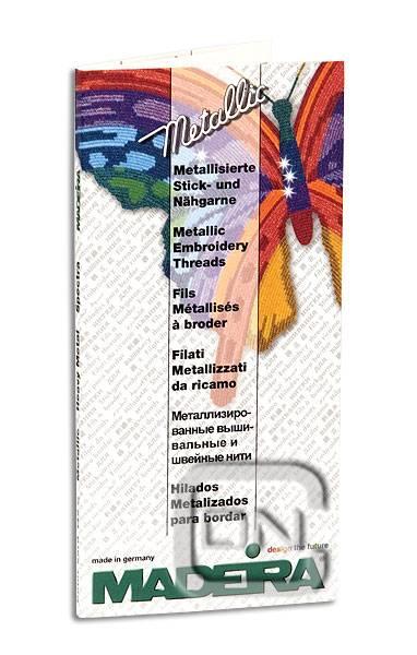 Madeira Farbkarte METALLIC