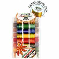 Madeira Stickgarn-Koffer 8048 DEKO - OVERLOCK