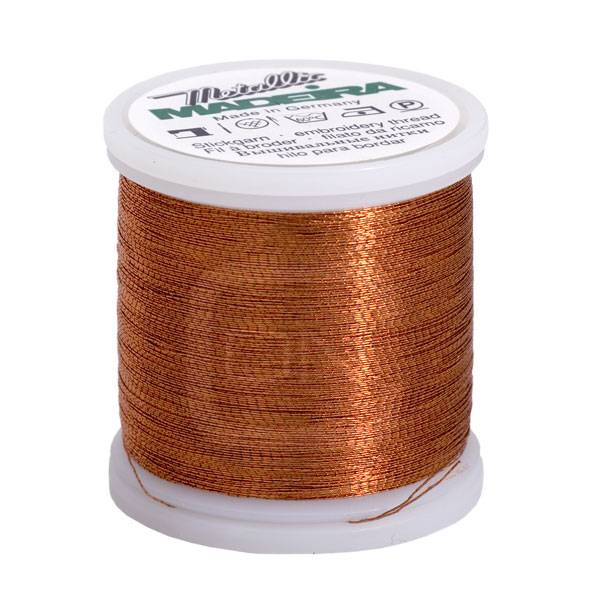 Madeira Metallic No. 40 Farbe copper 200m