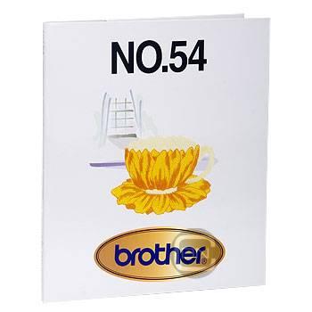 Brother Stickmotivkarte 54 - Tea Time - (ARCHIV)
