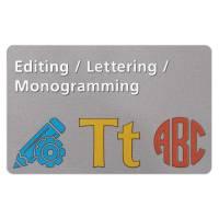 Bernina Toolbox komplett Editing Monogramming Lettering